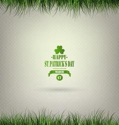 Saint Patricks Day Background vector image vector image