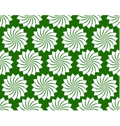 seamless pattern with petal shapes of a lotus vector image