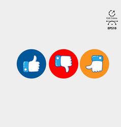 social media logo pack vector image