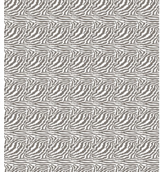 seamless geometric texture white zebra patterned vector image