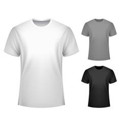 Men t-shirt template vector