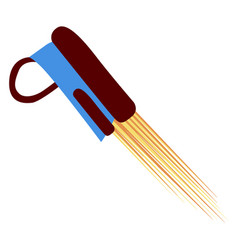 isolated jetpack icon vector image