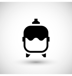 Expansion tank icon vector image vector image