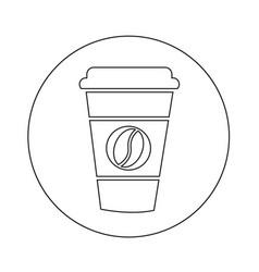 Coffee cup icon design vector