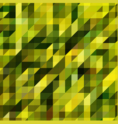 Mosaics made of geometric shapes green vector