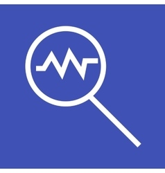 Search Chart vector image