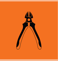 side cutters icon vector image