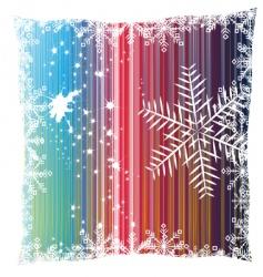 Christmas snowflakes design vector image