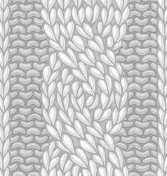 Six-Stitch cable stitch vector image vector image