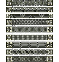 Celtic elements vector