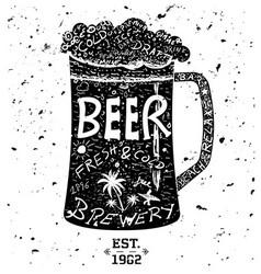 0000 beer vector