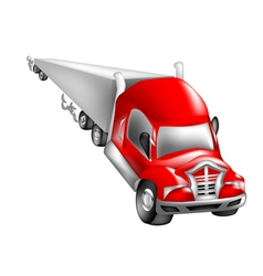 abstract nonexistent truck vector image