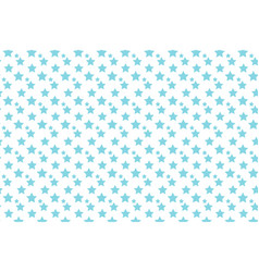 blue stars pop art background vector image