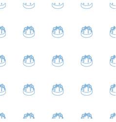 child playground carousel icon pattern seamless vector image