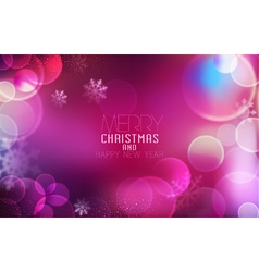 Christmas and New Year Bright festive background vector