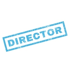 Director Rubber Stamp vector