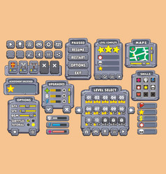 Game gui 21 vector