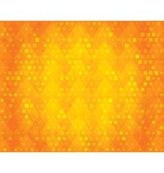 Orange geometric background for design vector image