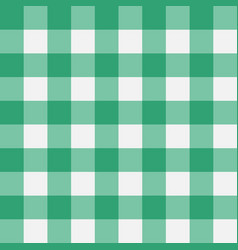 plaid green vector image