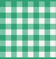 Plaid green vector