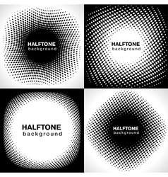 halftone2 vector image vector image