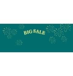 Big Sale Word Salute vector image