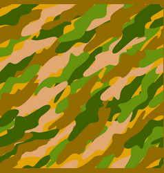 Abstract color camouflage background vector