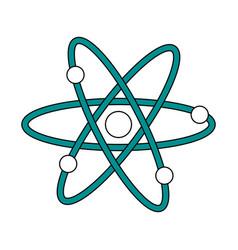 Atom flat vector