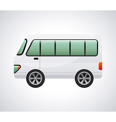 Bus design vector