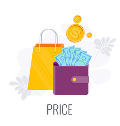 Price infographics pictogram successful content vector
