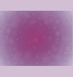 purple banner snowflakes christmas or new year vector image