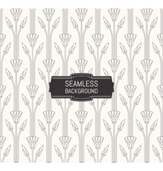 seamless modern pattern floral textur vector image