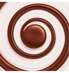 Sweet Spiral Background vector
