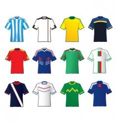 Teams shirt vector