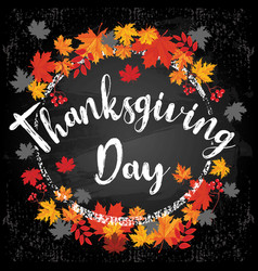 thanksgiving day 2 vector image