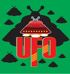 UFO 1 vector image