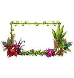 A garden vector image vector image