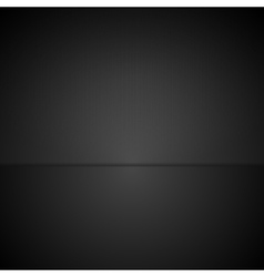Abstract black minimal tech background vector