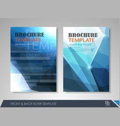Business flyer presentation vector