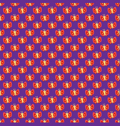 Colorful butterfly decorative seamless pattern vector
