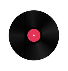 Creative of realistic vinyl vector