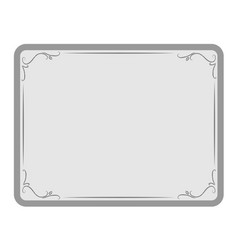 Decorative frame in retro style vector