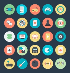 Gaming Colored Icons 1 vector