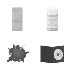 Medicine protection ecology and other monochrome vector