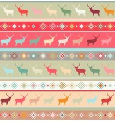 Norwegian seamless pattern EPS 8 vector image