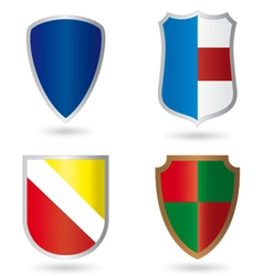 Set of Heraldry vector image