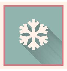 Snowflake symbol vector