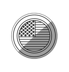 United states patriotic symbol vector