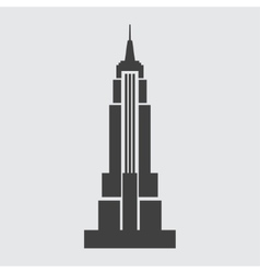 Empire State Building icon vector image vector image