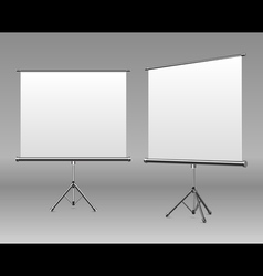 white board empty space vector image